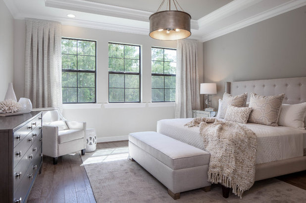 Transitional Bedroom by Cinnabar Design