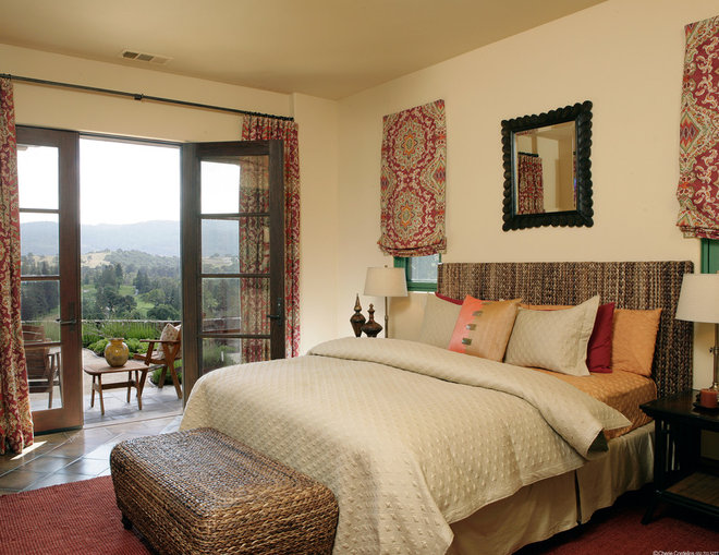 Rustic Bedroom by Gary J Ahern, AIA - Focal Point Design