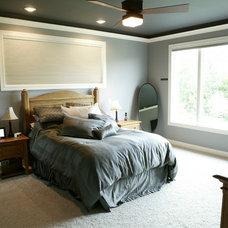 Modern Bedroom by Werschay Homes
