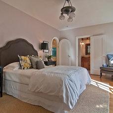 Contemporary Bedroom by Tamara Mack Design