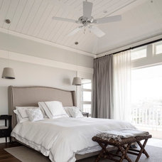 Beach Style Bedroom by Walter Barda Design