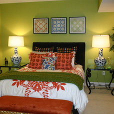 Eclectic Bedroom Tami McCall