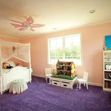 Farmhouse Bedroom by Toebben Builders