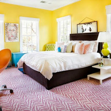 Contemporary Bedroom Tarrytown Listing & Staging