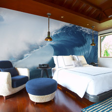 Eclectic Bedroom by Murals Your Way