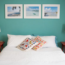 Teal and red bedroom - Shabby-chic Style - Bedroom - Other ...