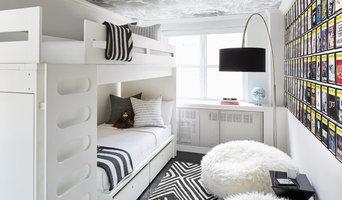 Teen bedroom HVAC cabinet