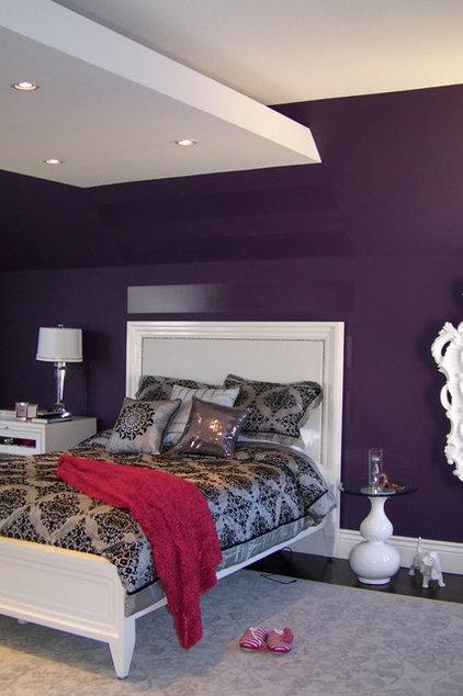 Contemporary Bedroom by Nina sobiNina Design