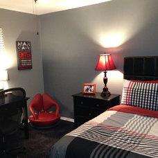 Modern Bedroom Teen boy room