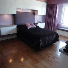 Contemporary Bedroom by Wharton Interiors