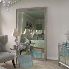 Contemporary Bedroom by IMBUE Merchandising & Design