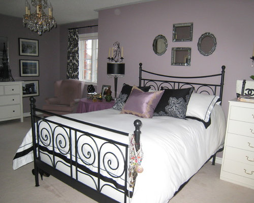41 mauve Eclectic Bedroom Design PhotosEclectic Mauve Bedroom Design Ideas  Remodels   Photos   Houzz. Mauve Bedroom. Home Design Ideas