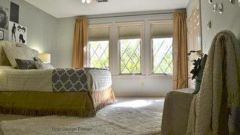 Teen girl's bedroom