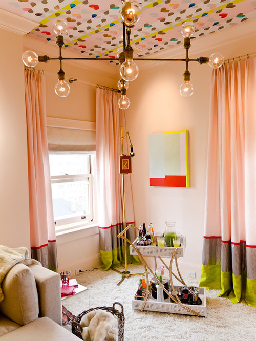 Blush Curtains Ideas, Pictures, Remodel and Decor