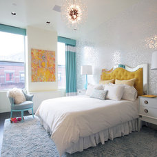 Contemporary Bedroom by Terrie Koles Design, llc