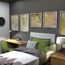Contemporary Bedroom by Interior Design Online