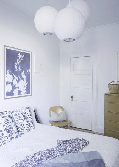Eclectic Bedroom by Julia Mack Design, LLC