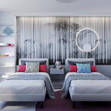 Teenage girl bedroom