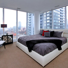 Contemporary Bedroom by RT Designs (Roula Thalassinos Designs Inc.)