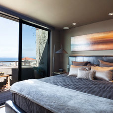 Contemporary Bedroom by Kat Alves Photography