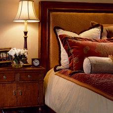 Eclectic Bedroom by Slifer Designs