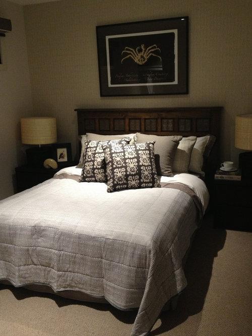 Medium Sized Eclectic Bedroom Design Ideas, Renovations & Photos