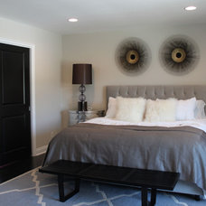 Eclectic Bedroom by squarefoot interior design