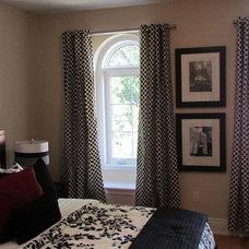 Contemporary Bedroom by Michelle Finnamore Interiors Ltd.