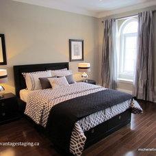 Modern Bedroom by Michelle Finnamore Interiors Ltd.
