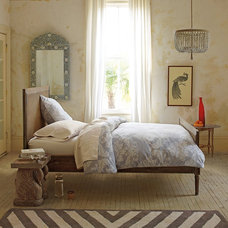 contemporary bedroom by Serena & Lily