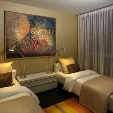 Modern Bedroom by Tessi Garcia Interior Design