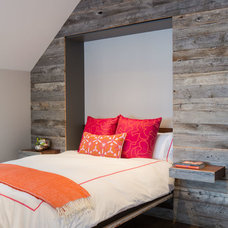 Rustic Bedroom by David Agnello Photography