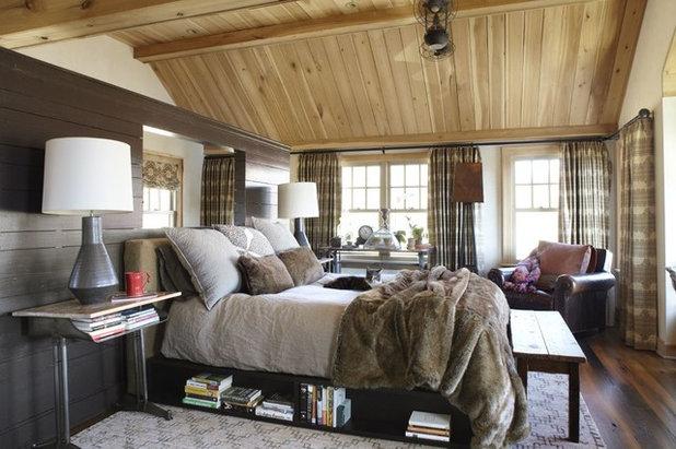 カントリー 寝室 by Dan Ruhland Designs LLC