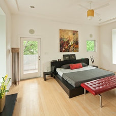 Contemporary Bedroom by Universal Joint Design Associates