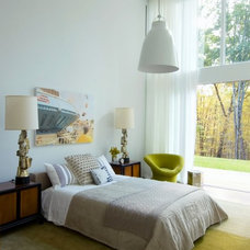 Eclectic Bedroom by Incorporated