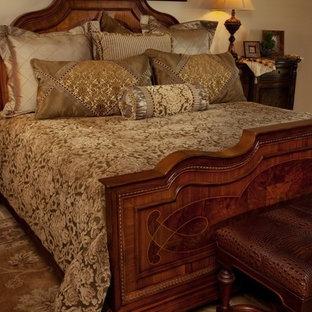 Bedroom - mediterranean bedroom idea in Austin