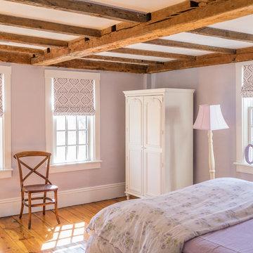 The 1729 Timothy Hyde House: Newton, MA