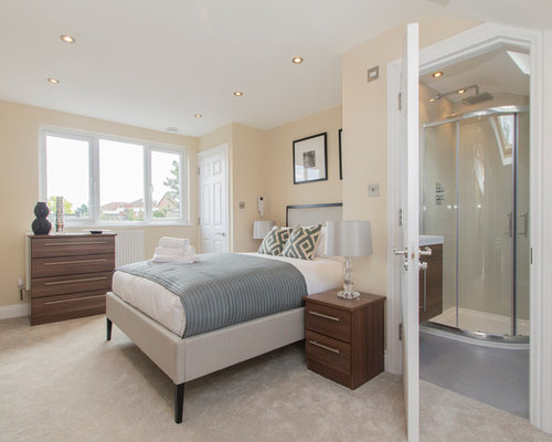 Tiny ensuite houzz for Bedroom with ensuite designs