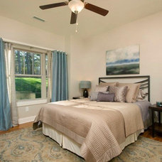 Traditional Bedroom by Living Stone Construction, Inc.