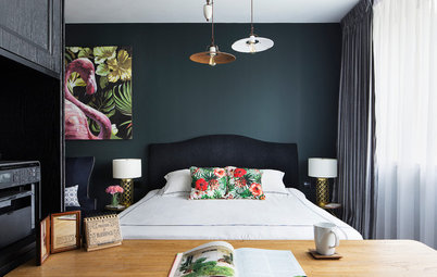 How Do I... Use Dark Paint Colours in a Small Apartment?