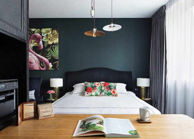 Transitional Bedroom by The Scientist