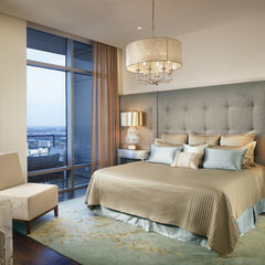 contemporary bedroom by Laura Britt Design
