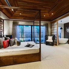 Asian Bedroom by Webb & Brown-Neaves