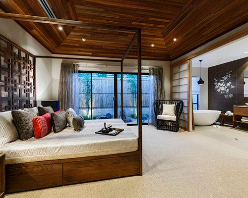20 asiatisch anmutende zen schlafzimmer mit entspannter atmosphäre, Schlafzimmer entwurf