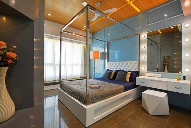 Eclectic Bedroom by Open Atelier Mumbai