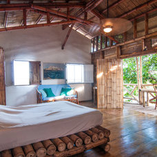 Tropical Bedroom by Louise Lakier