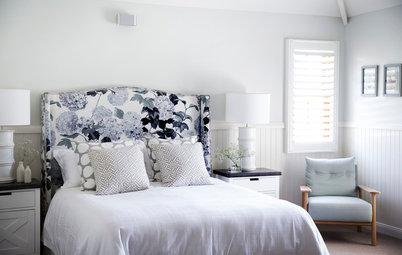 10 Patterned Headboards That Make a Bedroom Scheme