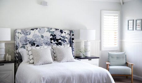 10 Patterned Headboards That Make a Bedroom Scheme