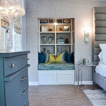 The Bedrooms Suite Reading Nook - Pasadena Showcase House 2013