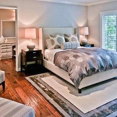 Transitional Bedroom by The Black Door